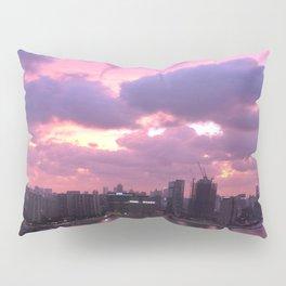 Sunset over Puxi, Shanghai Pillow Sham