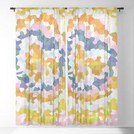 Sun Beam Geometric Sheer Curtain