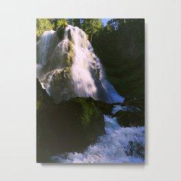 Falls Creek Falls Second Tier Metal Print