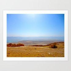 Masada II Art Print