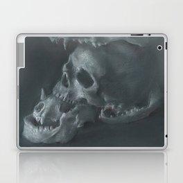STACKED SKULLS Laptop & iPad Skin