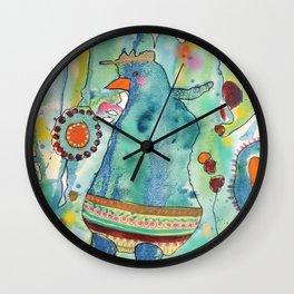 ma poule Wall Clock