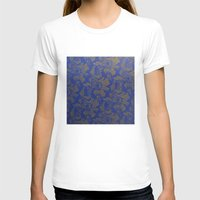 baroque T-shirts featuring Baroque Rose by Azure Cricket