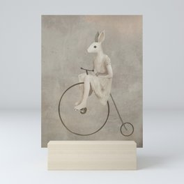 penny farthing Mini Art Print