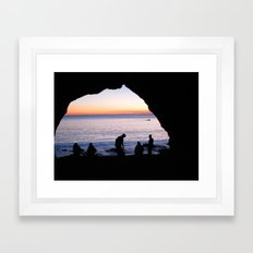Light At The End Framed Art Print