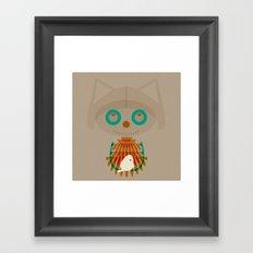 Vugi Framed Art Print