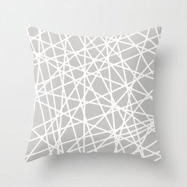 Lazer Dance Throw Pillow