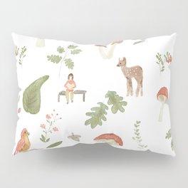 Forest Dream Pattern Pillow Sham