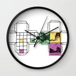 ik ben sez Wall Clock
