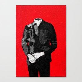 standing figure. 2015.  Canvas Print