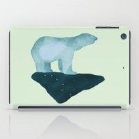 polar bear iPad Cases featuring Polar Bear by Arts and Herbs