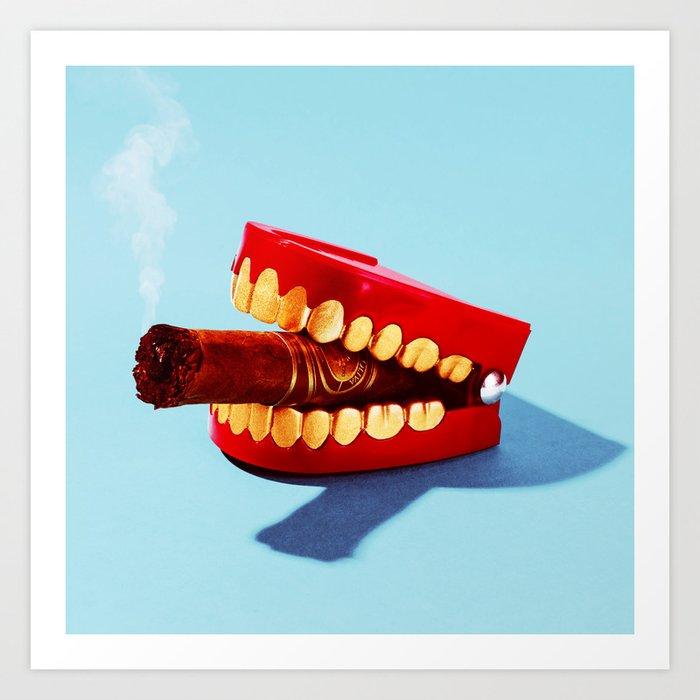 Smokey Art Print