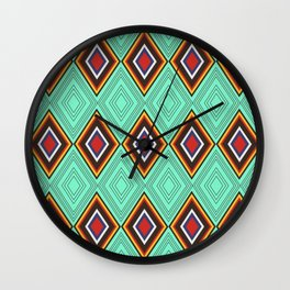 Tribal X Wall Clock