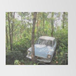 Ford Anglia the original Herbie Throw Blanket