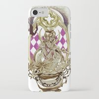 tarot iPhone & iPod Cases featuring Moon Tarot by A Hymn To Humanity