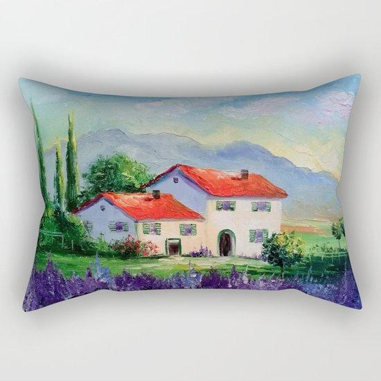 The beauty of Provence Rectangular Pillow