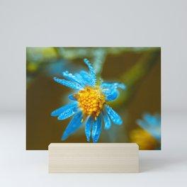 Autumn dew Mini Art Print