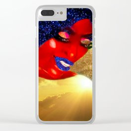 Ecstatic Queen Clear iPhone Case