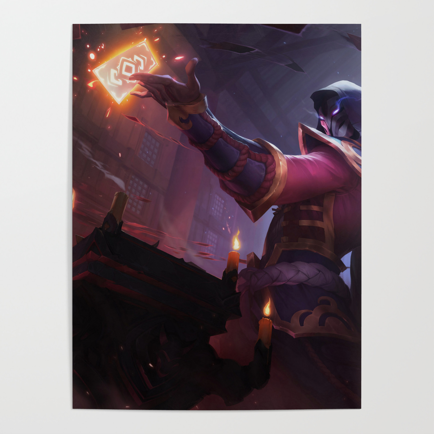 Blood Moon Twisted Fate League Of Legends Poster By Amumus Society6
