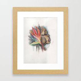 woman of paradise Framed Art Print