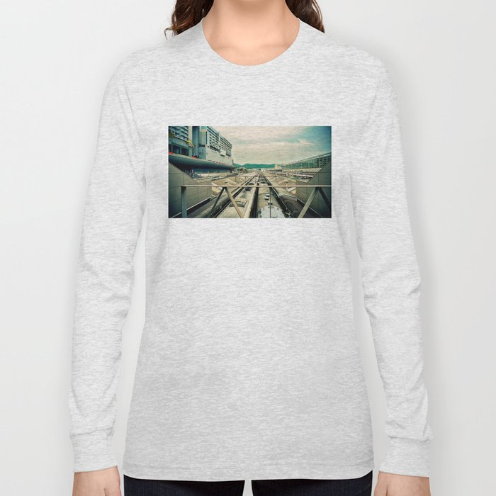 Train station Long Sleeve T-shirt