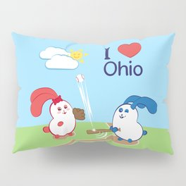 Ernest and Coraline | I love Ohio Pillow Sham