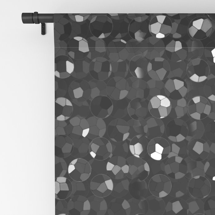 Crystal Bling Strass G283 Blackout Curtain