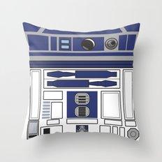 R2D2 - Starwars Throw Pillow