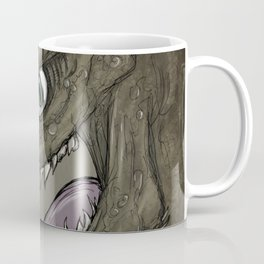 Brown dragon illustration Coffee Mug