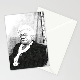 Mary Jane McLeod Bethune - SketchArt - American Educator Society6 Online Artworks 2332 Stationery Cards