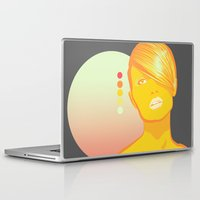 vodka Laptop & iPad Skins featuring Vodka Sunrise  by PKLdesigner