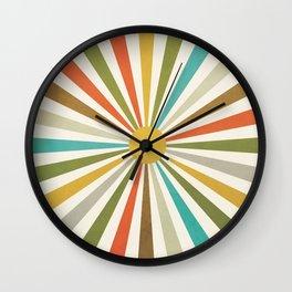 Sun Retro Art IV Wall Clock