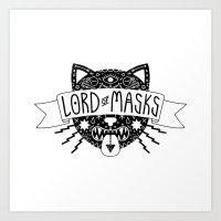 LordofMasks Art Print