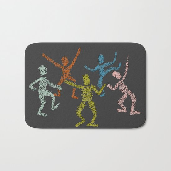 Dance fever Bath Mat