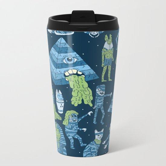 Wow! Mummies! Metal Travel Mug