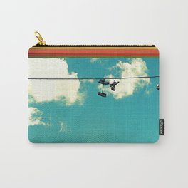 On a Wire Carry-All Pouch