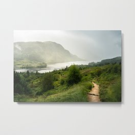 Scottish Highlands Landscape Panorama Metal Print