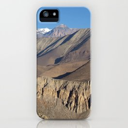 Scenery from Road to Jomsom iPhone Case