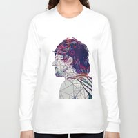 louis Long Sleeve T-shirts featuring Geometric Louis by Peek At My Dreams