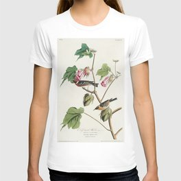 Bay-breasted Warbler from Birds of America (1827) by John James Audubon etched by William Home Lizar T-shirt