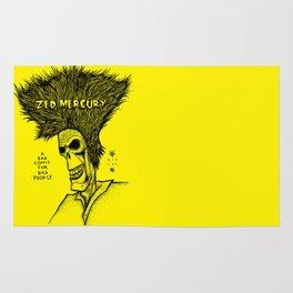 Zed Mercury Cramps tribute Rug