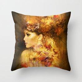 Poésie Throw Pillow