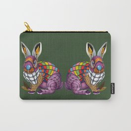Steampunk Bunny Rabbit Carry-All Pouch