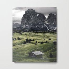 seiser alm landscape Metal Print