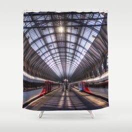 Kings Cross Station London Shower Curtain
