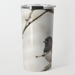 Spotted Towhee Travel Mug