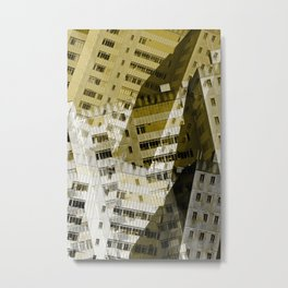 City buildings Metal Print