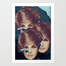 Triplets With Those Eyes Art Print
