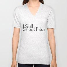 I Still Shoot Film! Unisex V-Neck