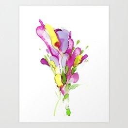 Ink series #7 Art Print